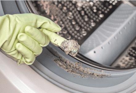 Waschmaschine dreckig